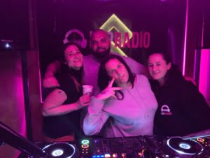 Carnao Beats with Amy Alexandra and friends at pirate studios in London